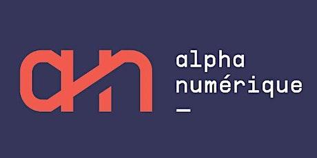 AlphaNumérique webinaire 3 - Présentation des outils et du site internet.06 tickets