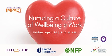 Human Capital Impact Forum: Nurturing a Culture of Wellbeing tickets