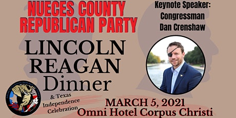Lincoln Reagan Dinner 2021with The Nueces County Republican Party tickets