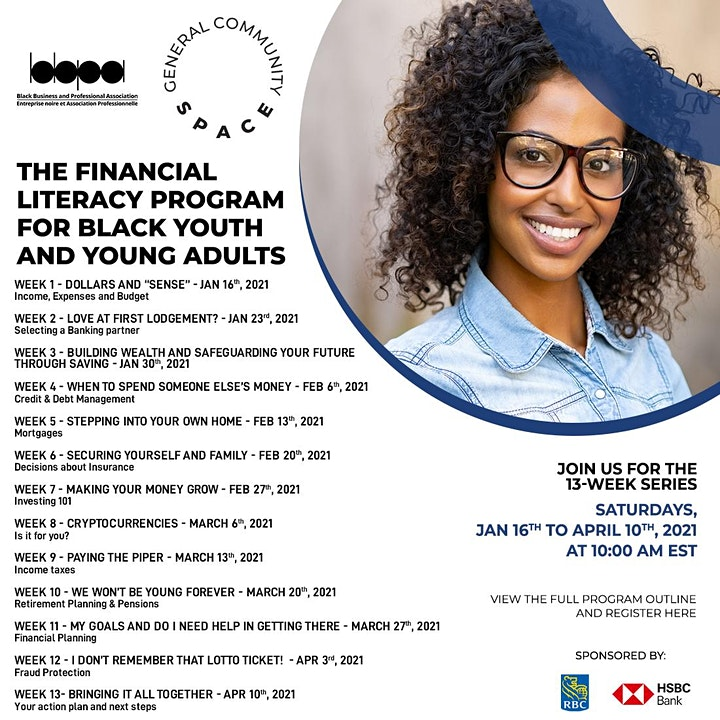 Community Space - The Financial Literacy Program for the Black Community image