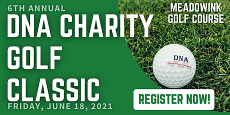 6th Annual DNA Charity Golf Classic tickets