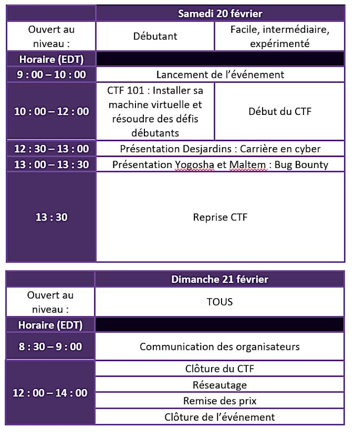 Image de Les 24 H du CTF / 24-hour CTF