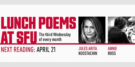 Lunch Poems presents Jules Arita Koostachin & Annie Ross tickets