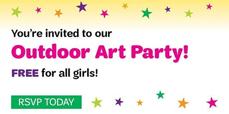 Girl Scouts Louisiana East- You're Invited to an Outdoor Art Party tickets