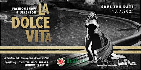 La Dolce Vita Fashion Show & Luncheon tickets