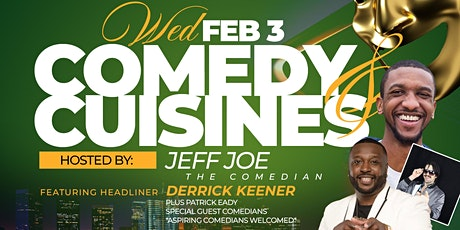Comedy & Cuisines @ Nyammings Event Space tickets
