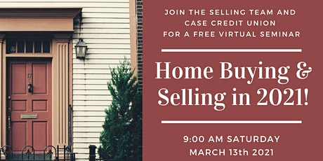 Home Buying/Selling Seminar with CASE Credit Union tickets