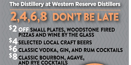Happy Hour at The Distillery tickets