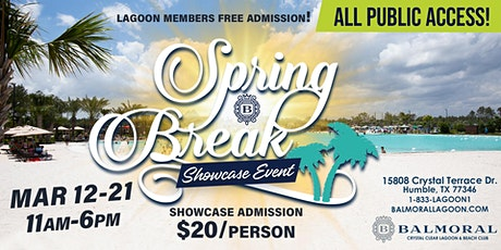Balmoral Spring Break Showcase Event tickets