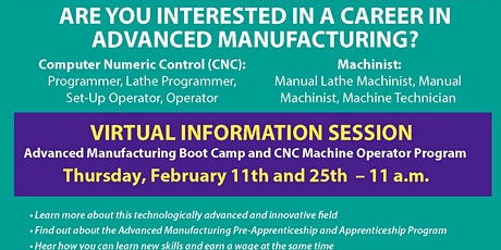 Advanced Manufacturing Information Session tickets
