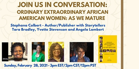 Ordinary Extraordinary African American Women - Storyteller Discussion tickets