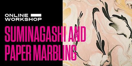 Suminagashi and Paper Marbling tickets