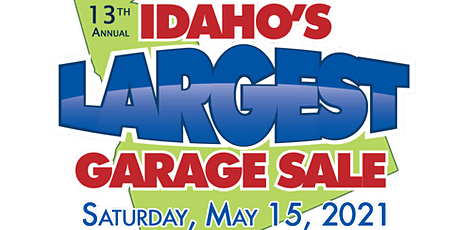 Idaho's Largest Garage Sale 2021 tickets