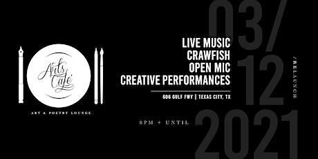 Arts Café Art & Poetry Lounge   Relaunch Event tickets
