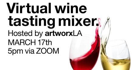 Virtual Wine Tasting Mixer tickets