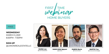 First Time Home Buyers Webinar tickets