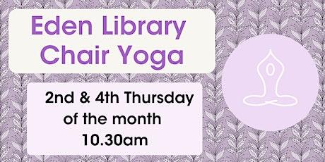Chair Yoga @ Eden Library tickets