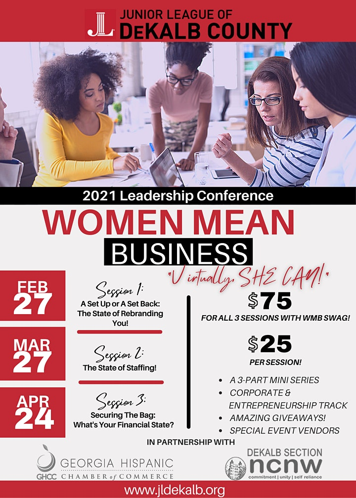 2021 Women Mean Business Leadership Conference image