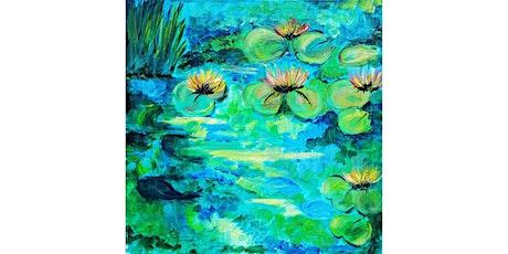 "Virtual ""Monet's Lilypads"" tickets"