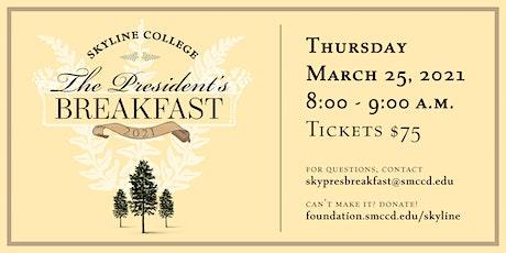 The Skyline College President's Breakfast tickets