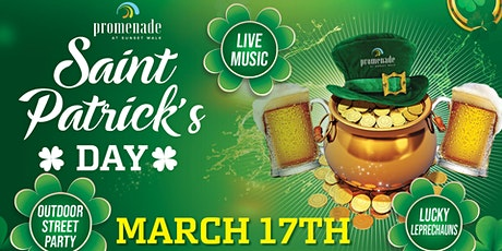 Promenade at Sunset Walk Saint Patrick's Day Street Party  Celebration tickets