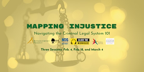 Mapping Injustice: Navigating the Criminal Legal System 101 tickets