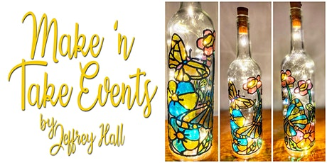 Make N Take Event - Stained Glass Bottle-Butterfly tickets
