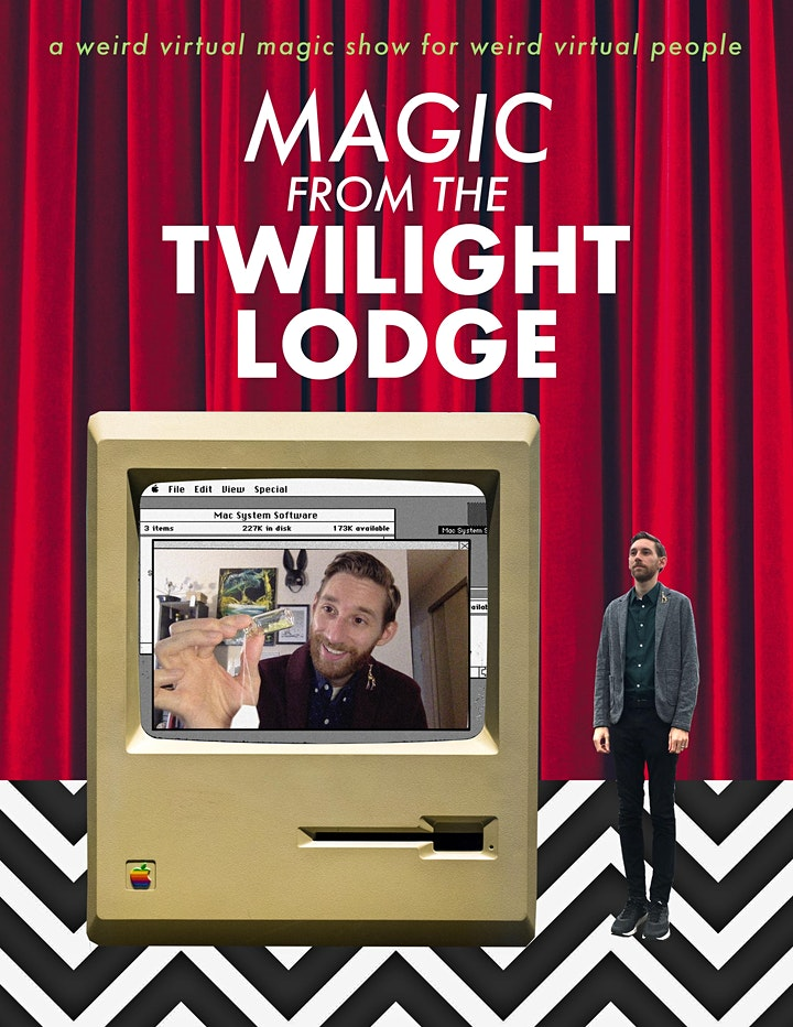 Magic from the Twilight Lodge – Virtual Magic Show By Vincenzo Ravina image