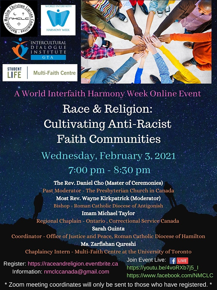 Race & Religion: Cultivating Anti-Racist Faith Communities image