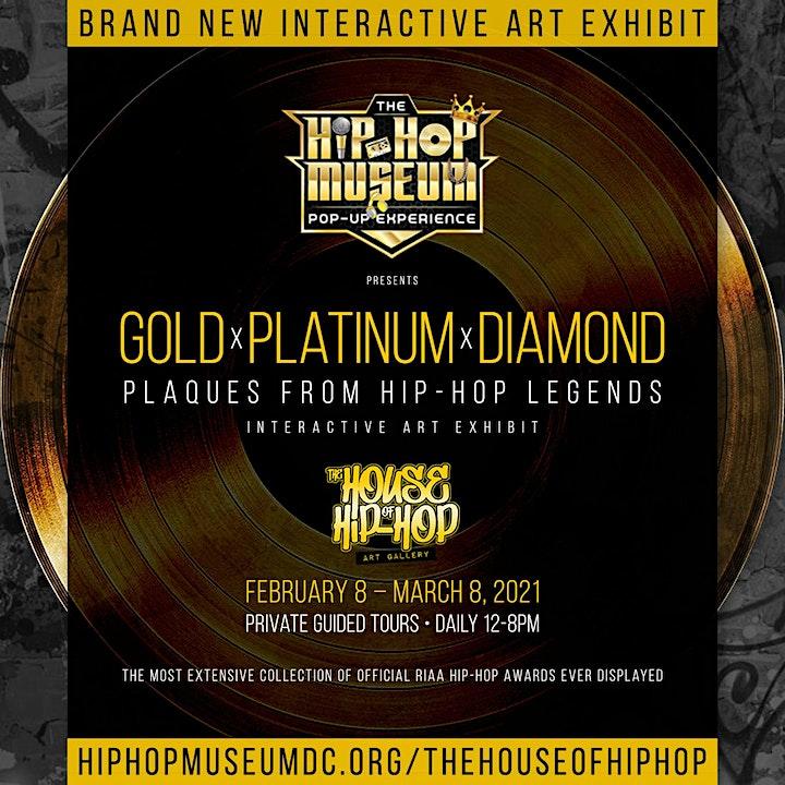 Gold x Platinum x Diamond : Plaques from Hip-Hop Legends image