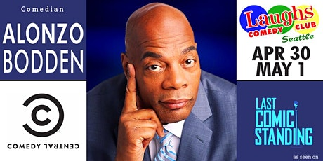 Comedian Alonzo Bodden - Seen on NBC, Comedy Central, and Conan tickets