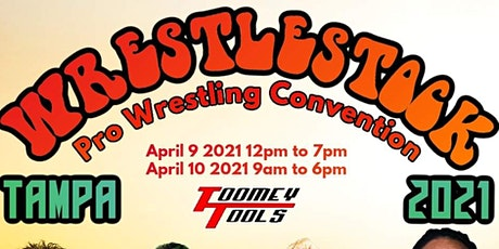 WrestleStock TAMPA 2021 tickets