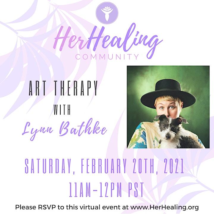 HerHealing Community: Art Therapy with Lynn Bathke image
