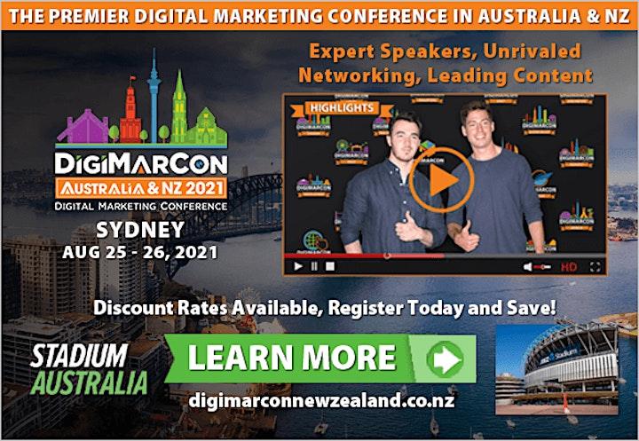 DigiMarCon New Zealand 2021 - Digital Marketing Conference & Exhibition image