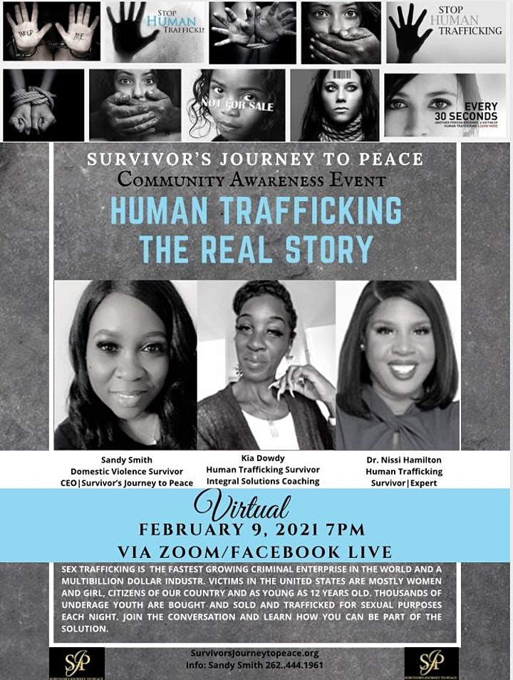 """Human Trafficking """"The Real Truth"""" image"""