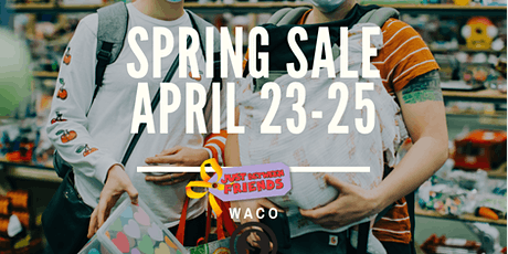 Just Between Friends Waco Spring 21 Consignment Sales -Consignor Ticket tickets