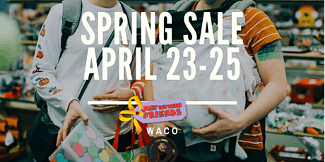 General Admission- Just Between Friends Waco Spring 2021 Consignment Sale tickets
