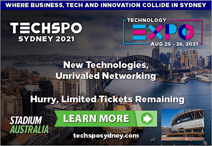 TECHSPO Sydney 2021 Technology Expo (Internet ~ Mobile ~ AdTech ~ MarTech) image
