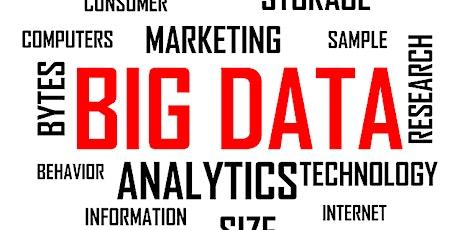 Free (Virtual) Data Analytics, Big Data & Blockchain, Tues  March 23, 2021 tickets