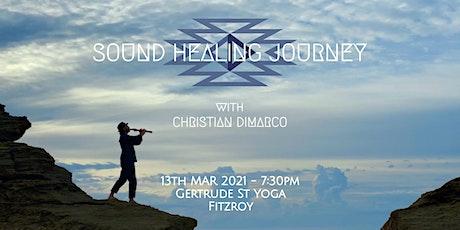 Sound Healing Journey w/ Christian Dimarco - 13th Mar 2021 Fitzroy tickets
