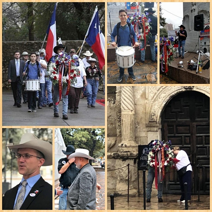 REMEMBER THE ALAMO CEREMONY image