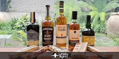 Whisky Flights: Irish Pot Still paired with Jasper + Myrtle Chocolate tickets