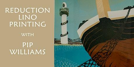 Lino Printing - Pip Williams tickets