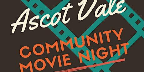 Ascot Vale Community Movie Night tickets