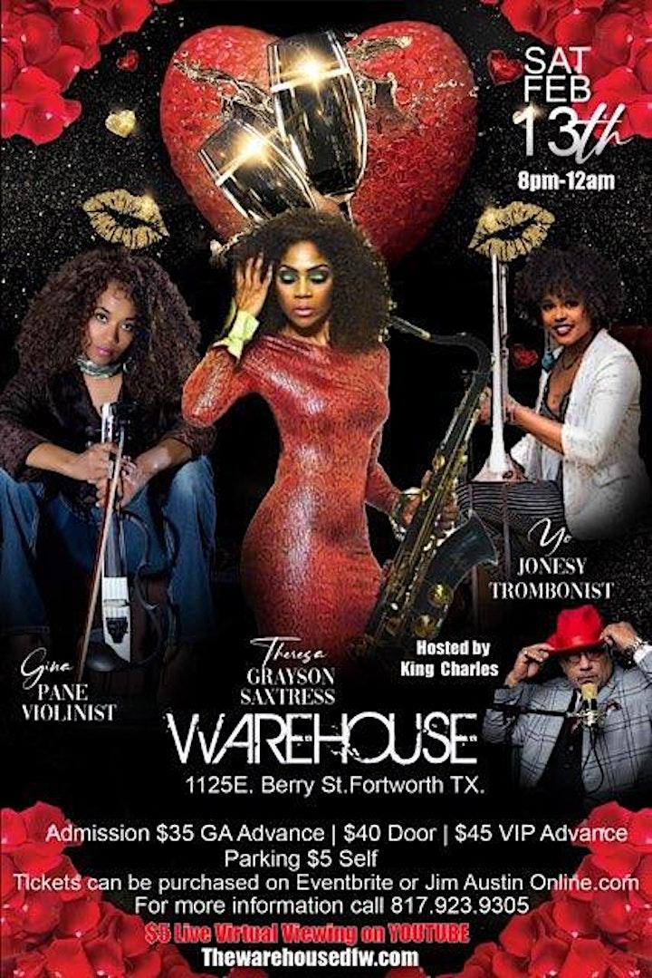Triple Threat Valentine Concert {8PM CST} 2/13/2021 @ The Warehouse image