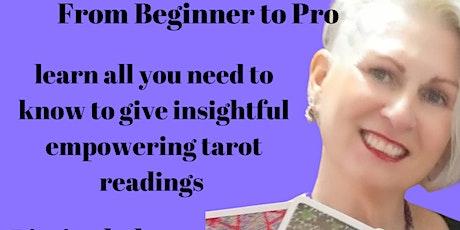 Journey to Enlightenment Tarot - Beginner to Pro -  9 week course tickets