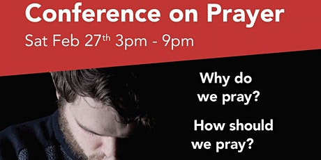 Conference On Prayer tickets