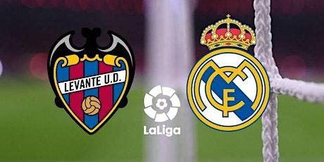 TV/VER.- R.e.a.l Madrid v Levante E.n Viv y E.n Directo ver Partido online entradas