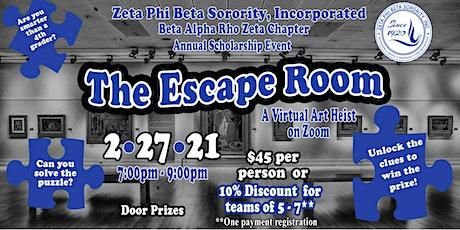 BAPZ Virtual Escape Room tickets