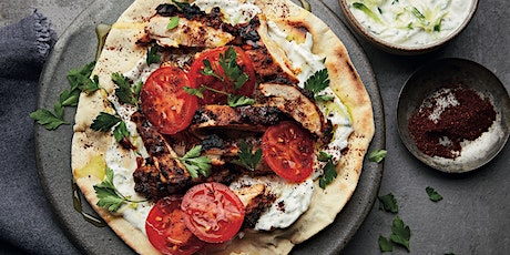 SHAWARMA WITH FLATBREAD & TZATZIKI COOKERY CLASS - £20 tickets